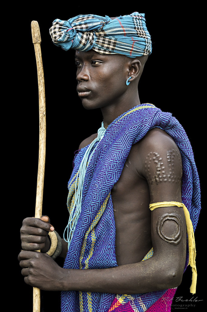 Young Man from the Mursi Tribe, Omo Valley   Smithsonian