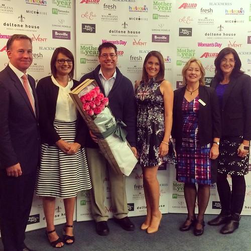 Congratulations to the Tasmanian Barnardos Mother of the Year Award winner Lisa King.   by jacquiepetrusma