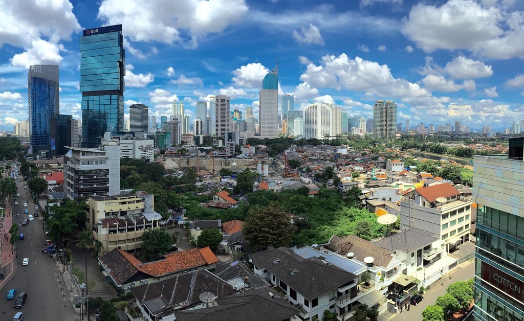 Clear Sky in Jakarta | After raining from yesterday and a bi… | Flickr