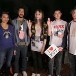 Fri, 24/04/2015 - 10:24am - Speedy Ortiz Live in Studio A, 4.24.2015 Photo by Deirdre Hynes