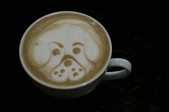 coffee cream art