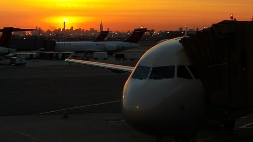 nyc sunrise jetplane gs6