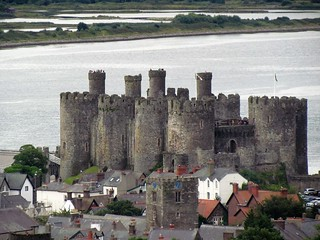 View of Conway Castle from Conway Mountain