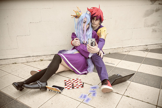 Sora & Shiro No Game No Life by OutsiderCosplay