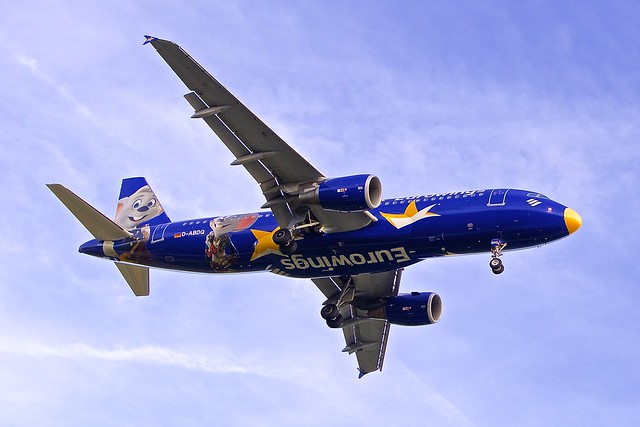 BCN/LEBL: Eurowings Airbus A320-214 D-ABDQ