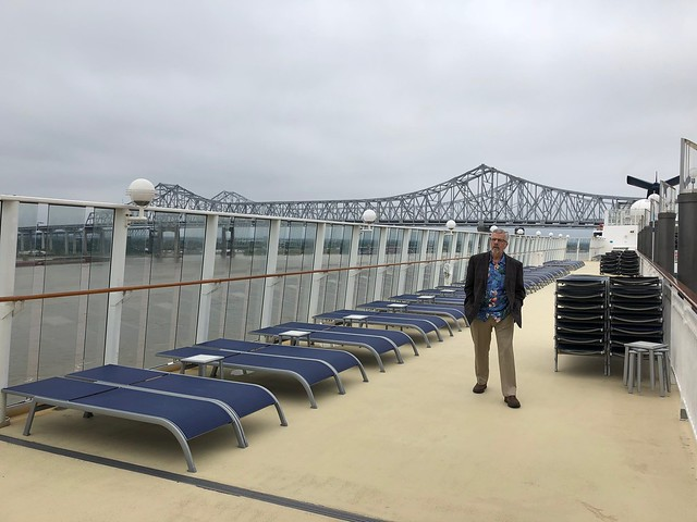 On Board the NCL Cruise Ship Pearl in New Orleans