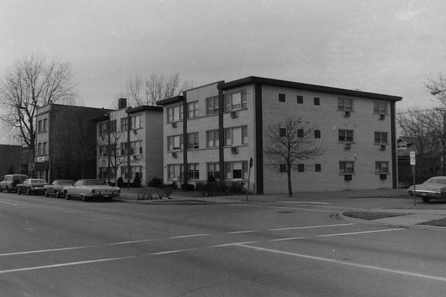 Found Photo - Apartment Buildings - Chicago
