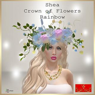 [LD] Shea - Crown of Flowers - Rainbow