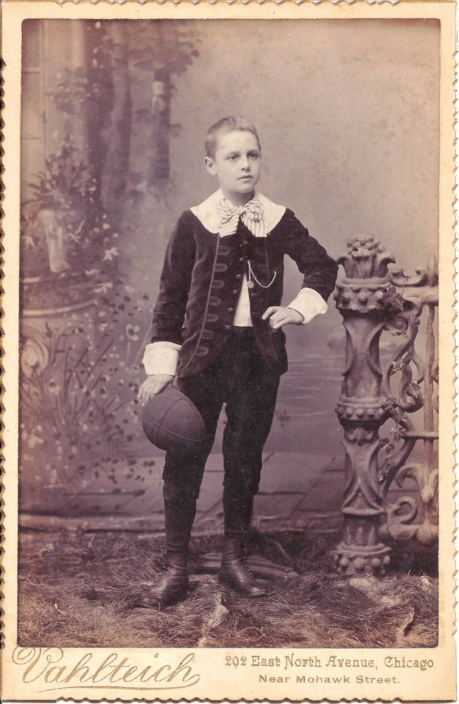 Little Lord Fauntleroy Cabinet Card Of A Young Boy Dress Flickr