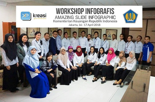 "Workshop Infografis ""Amazing Slide Infografis"" Kementerian Keuangan  RI Batch-2 Bersama Pakar Slide Dhony Firmansyah 
