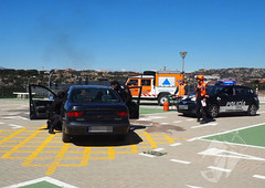 Simulacro accidente Torrelodones