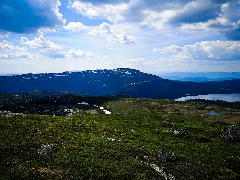 25-Utsikt mot Blefjell fra Senhovd