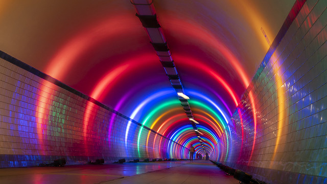 underground rainbow