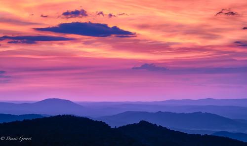 shenandoah virginia buckhollow clouds landscape landscapemountain sunrise