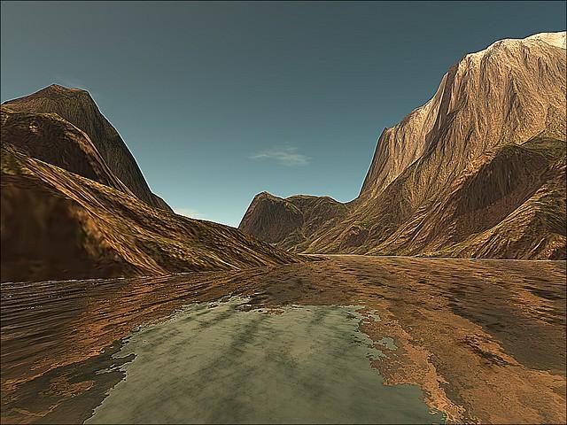 Zion National Park - River Flow