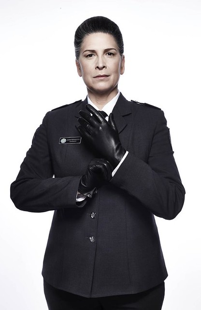 Wentworth star Pamela Rabe who plays Governor Joan Ferguson, aka The Freak. Credit: Foxtel, Foxtel/Ben King