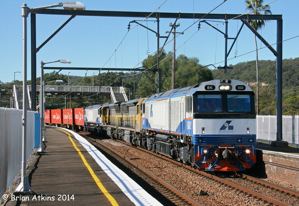 IMG_4019 BK002 1106 1107 BK001 Awaba 4112 16.6.14 by Brians Railway, Bus and Shipping Collection