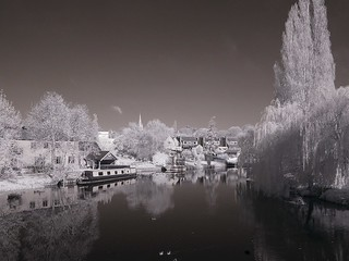 River Nene at Islip (Infra red) 2 | by Analyst 1