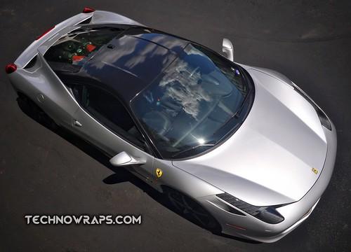 Exotic car wrap by TechnoSigns in Orlando, Florida