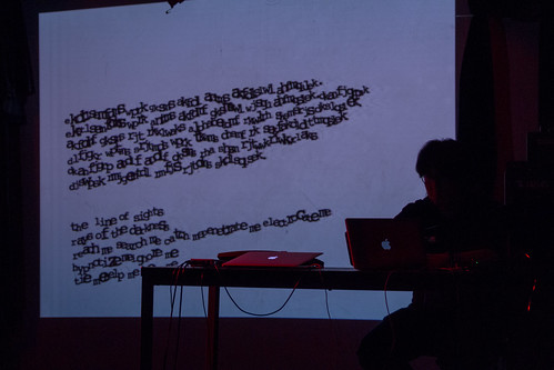 'Live Writing: Gloomy Streets' Sang Won Lee, Georg Essl NIME 2016   by johnrobertferguson