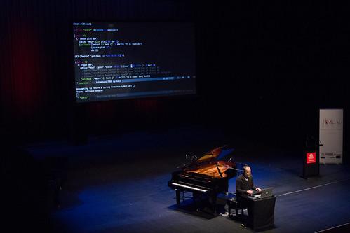 """Barely a Piano"" Andrew Sorensen NIME 2016 | by johnrobertferguson"