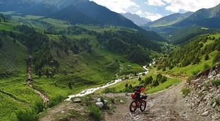 In the Kichi Alay mountains | by Pikes On Bikes