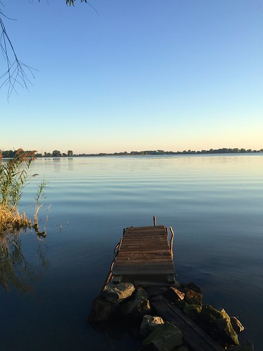 photostream lake water dock rocks clear clean sunrise erie ohio top2016final