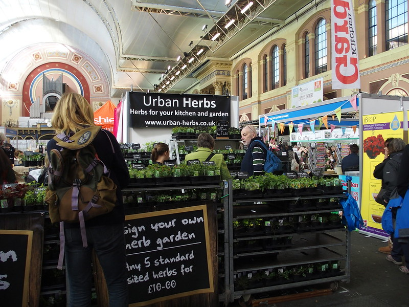 Urban Herbs stand