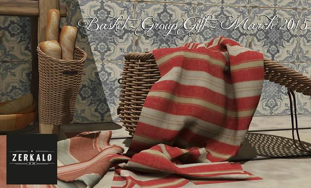 [ zerkalo ] Basket - Group Gift - March 2015