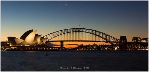 australia autumn canon color fall holiday newsouthwales night sydney sydneyoperahouse australië au sunset sun sunlight bridge harbour water nd panorama ndfilter longshuttertime longexposure cvk chrisvankan cvkphotography flickrtravelaward ngc chris van kan photography best flickr outdoor theroom