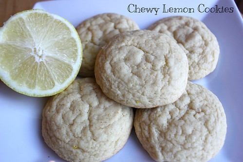Chewy Lemon Cookies | by NY Foodie Family