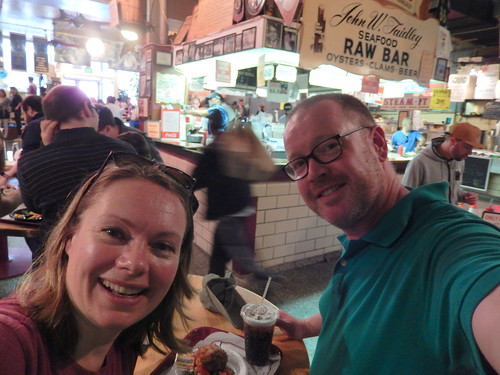 Baltimore - Lexington Market - crab cakes