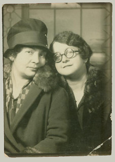 Pair in a Photobooth