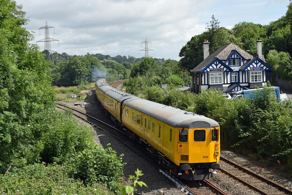 Network Rail Test Train at Cowley Bridge, Exeter | A ...
