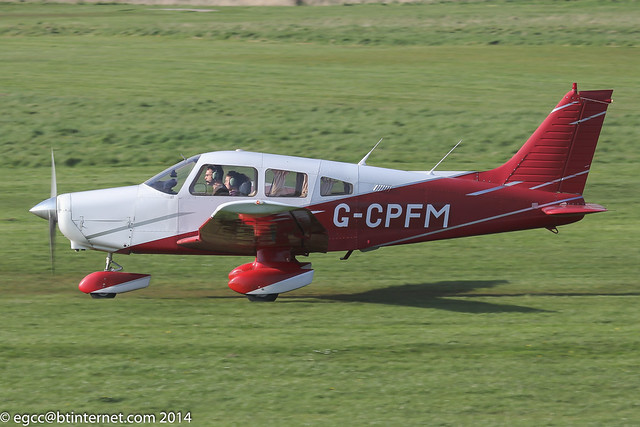 G-CPFM - 1980 build Piper PA-28-161 Cherokee Warrior II, since re-registered as G-EGBJ