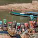 Embarcadère de la rivière Nam Ou. Ban Sat Ha. Laos