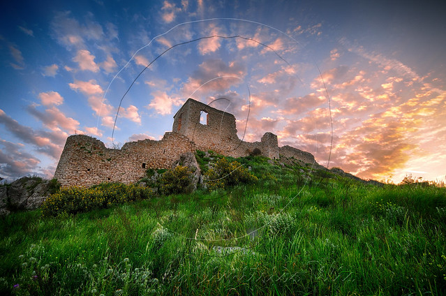 Κάστρο Παραλίου Άστρους Coastal Astros Castle HDR