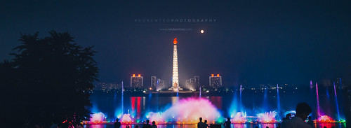 Celebration at Juche Tower | by reubenteo