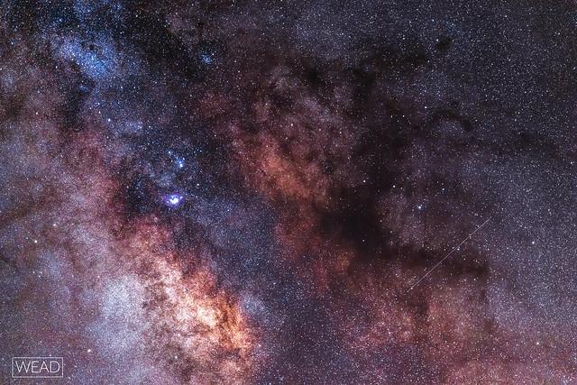 Dettaglio della Via Lattea