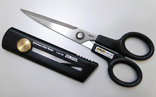 オルファ OLFA ハサミ リミテッドSC 切り出しナイフ リミテッドCK Ltd-06 Ltd-10