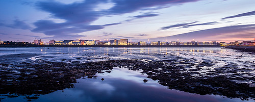 city ireland skyline architecture reflections evening twilight europe waterfront fairview eastpoint countydublin dublincity dublin3 scotttallonwalker