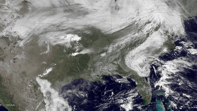 Severe Weather in the Eastern US (March 2015)