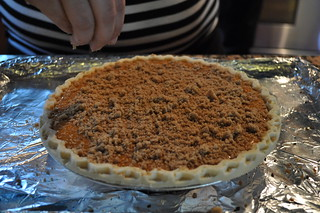 Sweet Potato Pie with Streusel Topping | by twoyoungladies