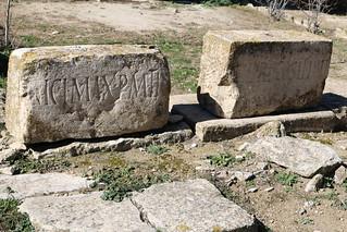 Temple de Saturne ; Fragments de frise inscrit n° 1 & 2