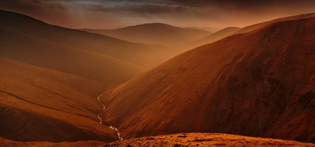 Carlin Gill Valley, The Howgill Fells (Explored).