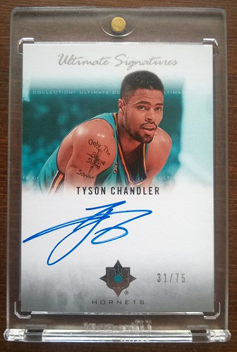 2007-08 Ultimate Collection Signatures #TY Tyson Chandler /75   by milkowski.pawel