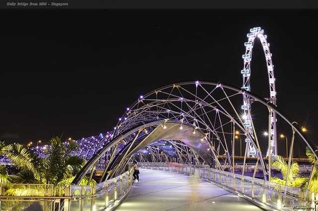 Helix Bridge from MBS - Singapore