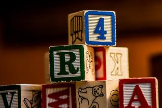alphabet blocks | by Philip N. Cohen