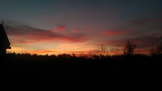 Sunset @Schoonoord
