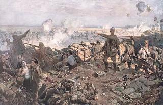 The Second Battle of Ypres /  La deuxième bataille d'Ypres